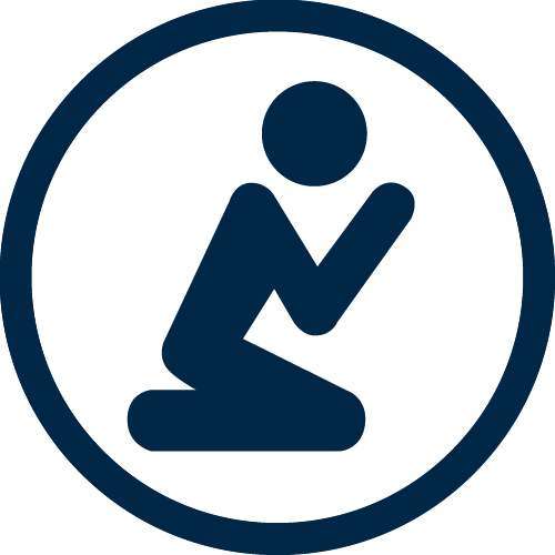 Person Praying Icon