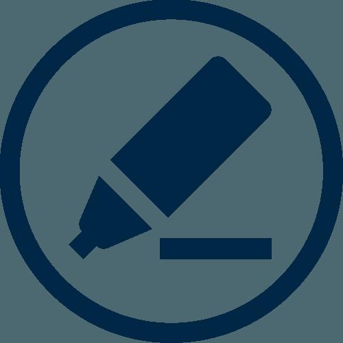 Marker Writing Icon