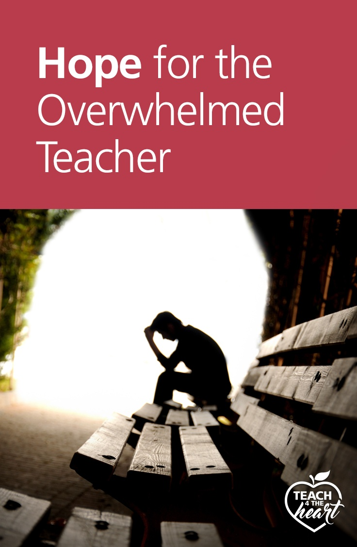 PIN Hope for the Overwhelmed Teacher