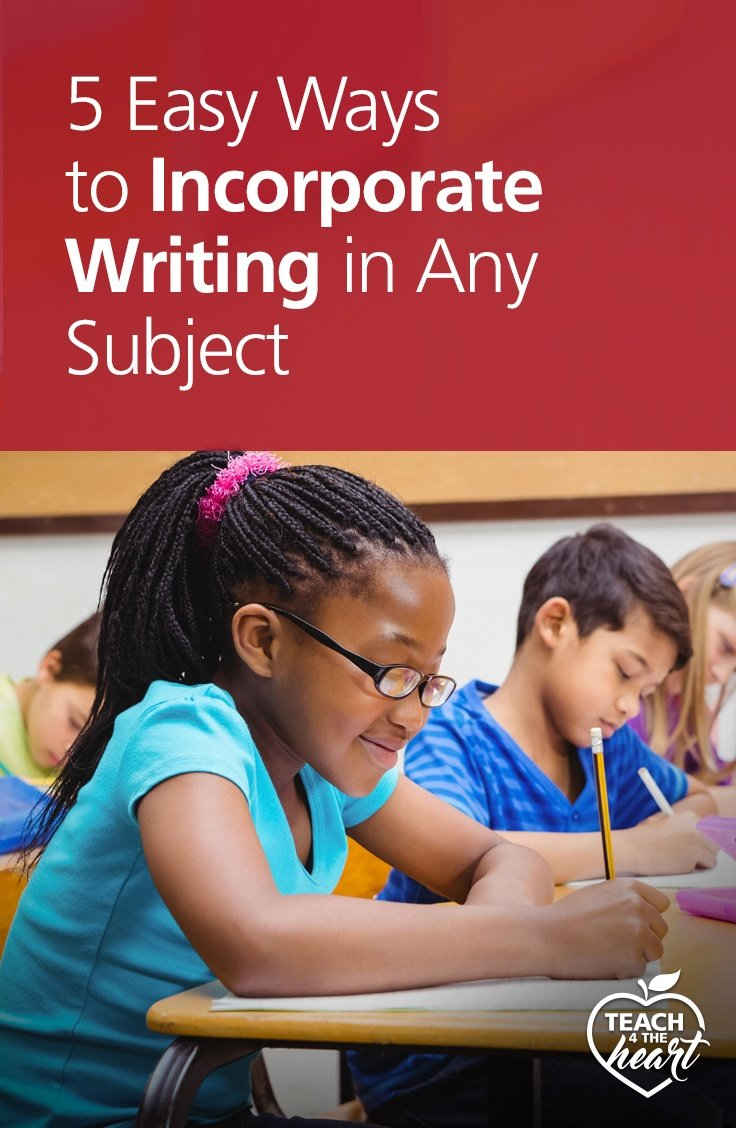 PIN 5 Easy Ways to Incorporate Writing in Any Subject
