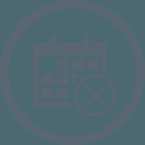 No Calendar Date Icon