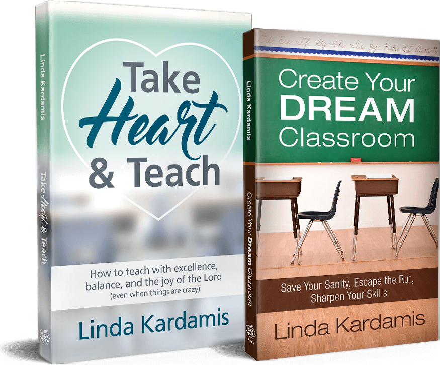 Take Heart & Teach book and Create Your Dream Classroom book