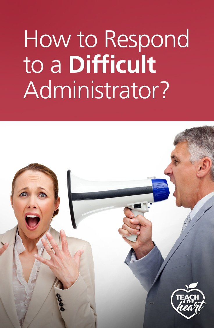 PIN How to Respond to a Difficult Administrator?