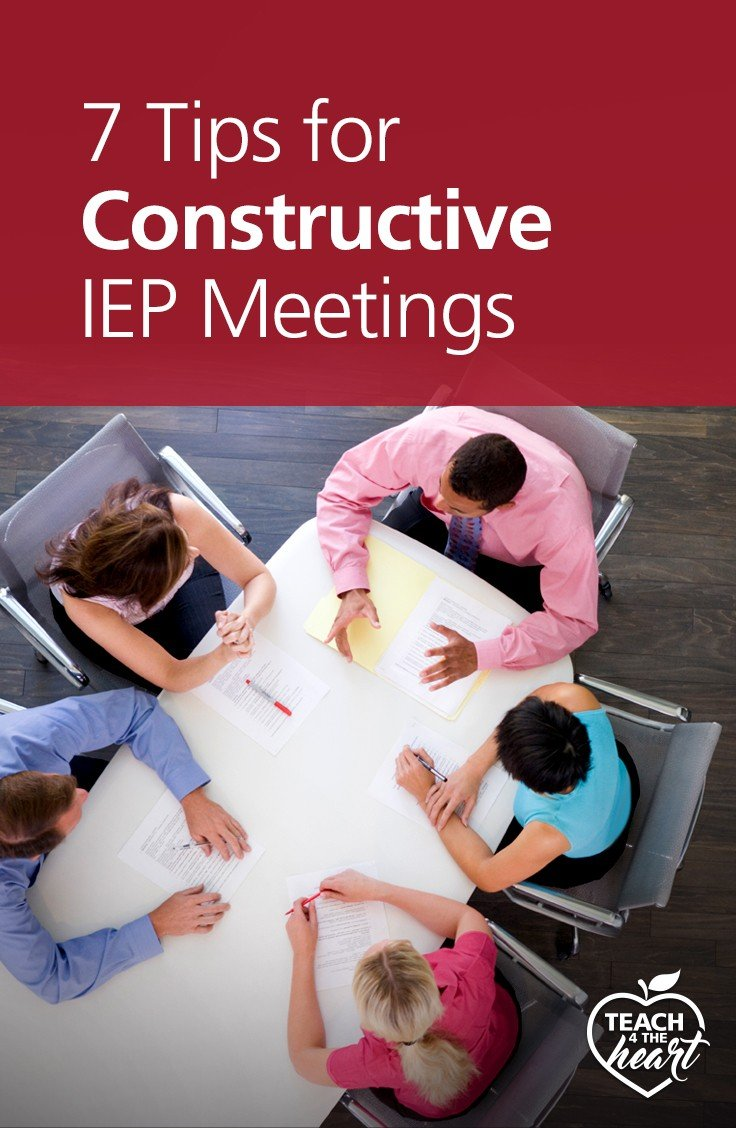 PIN 7 Tips for Constructive IEP Meetings