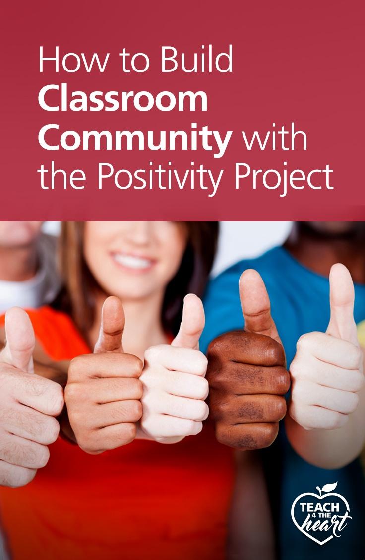PIN How to Build Classroom Community with the Positivity Project