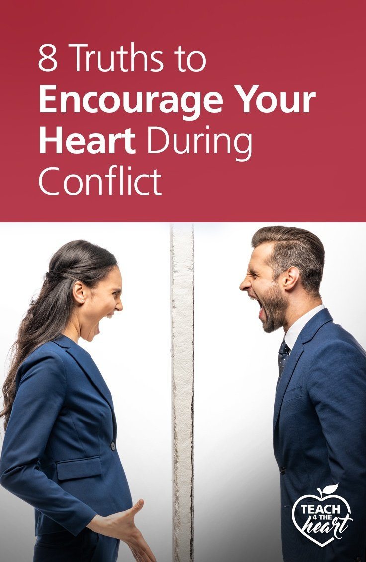 PIN 8 Truths to Encourage Your Heart During Conflict