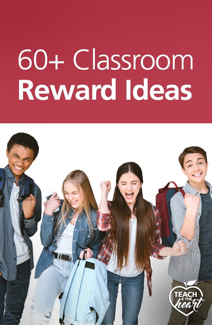 PIN 60+ Classroom Reward Ideas
