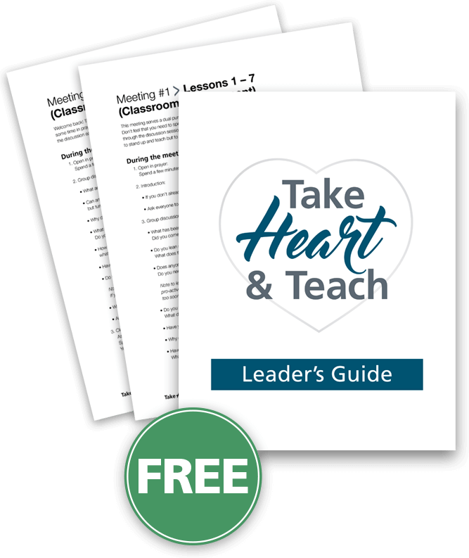 Free Download: Take Heart & Teach Leader's Guide