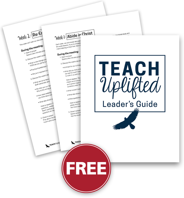 Free Download: Teach Uplifted Leader's Guide