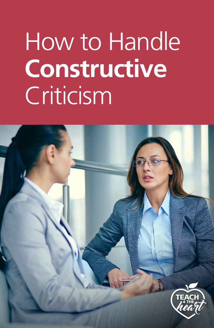 PIN How to Handle Constructive Criticism