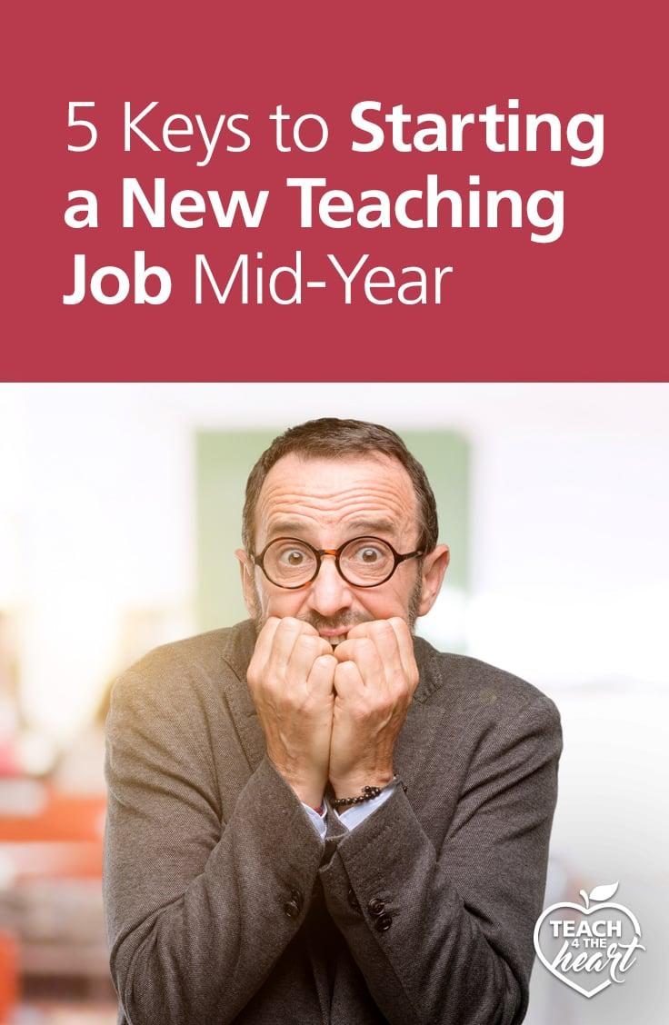 PIN 5 Keys to Starting a New Teaching Job Mid-Year