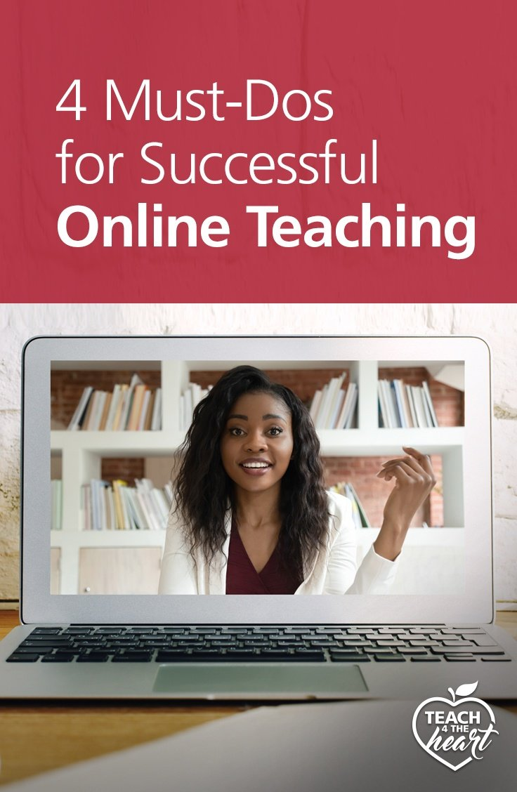 PIN 4 Must-Dos for Successful Online Teaching