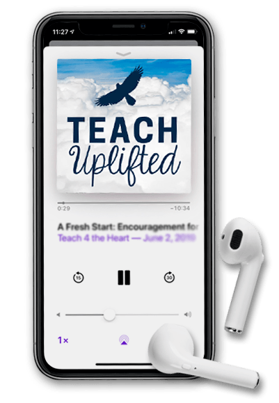 Teach Uplifted Weekly Audio Lessons