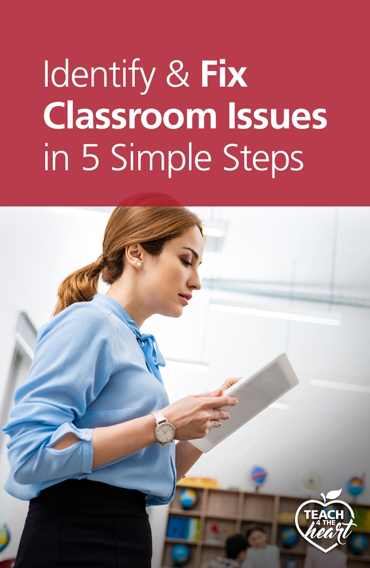 PIN Identify & Fix Classroom Issues in 4 Simple Steps