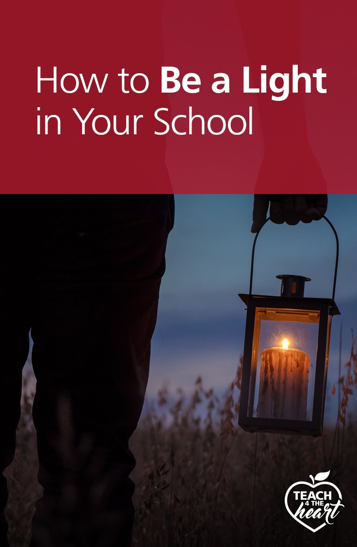 PIN How to Be a Light in Your School
