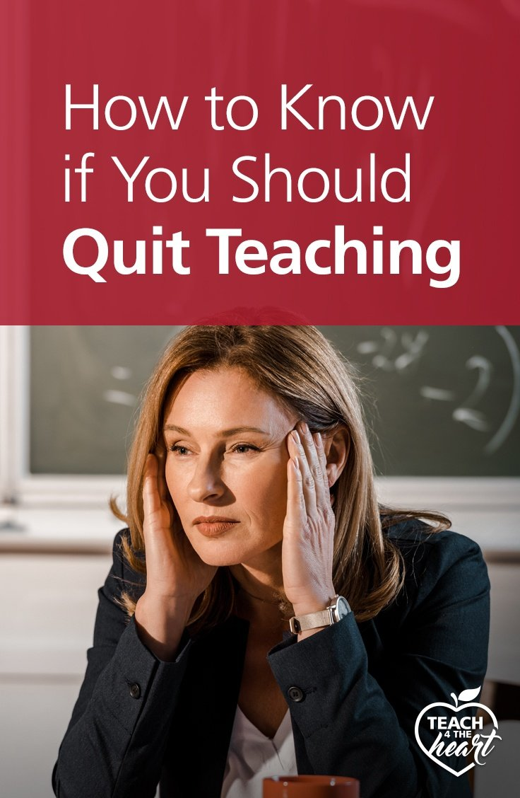 PIN2 How to Know if You Should Quit Teaching