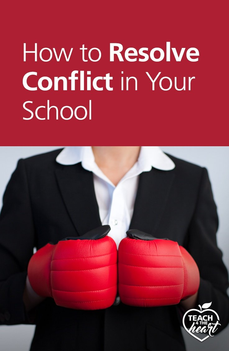 PIN How to Resolve Conflict in Your School