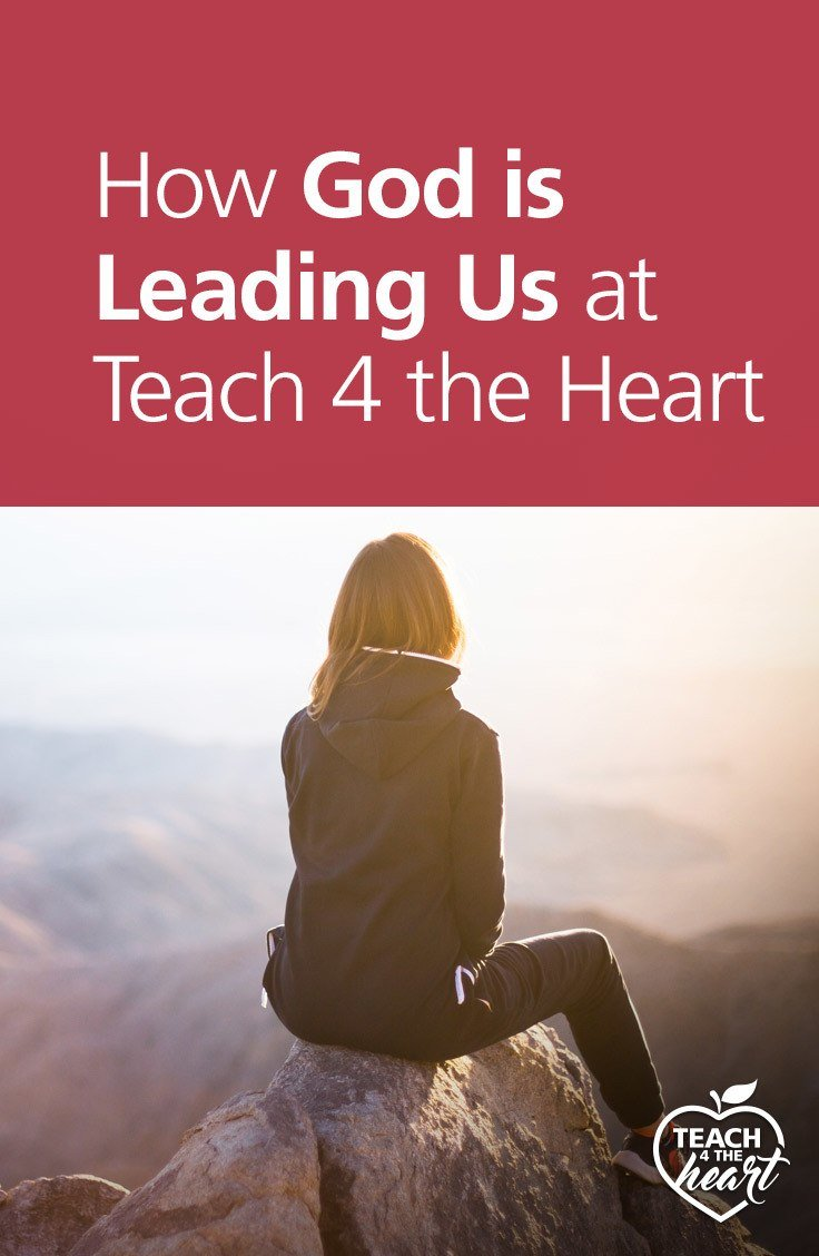 PIN How God is Leading Us at Teach 4 the Heart