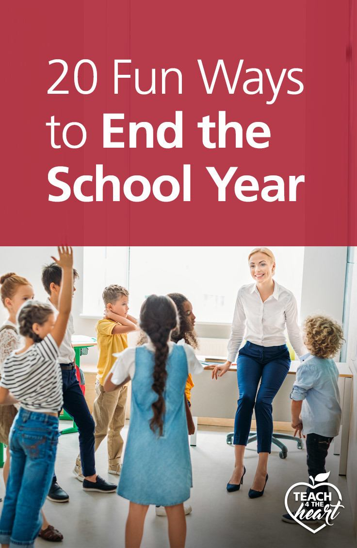PIN 20 Fun Ways to End the School Year