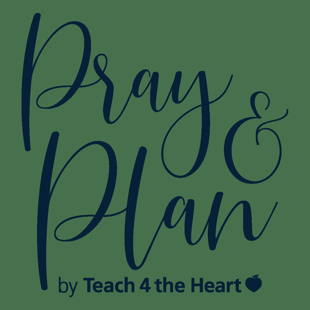 Pray & Plan Logo Blue