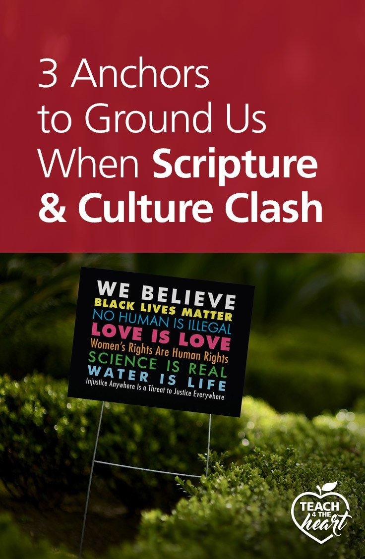 PIN 3 Anchors to Ground Us When Scripture & Culture Clash