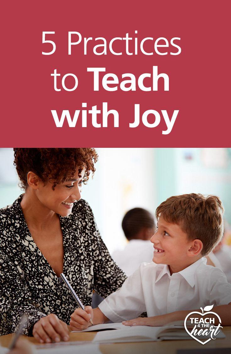 teach with joy